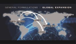 General Formulations makes inroads to Europe, Middle East and Africa.