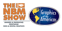 GF Exhibiting at NBM/GOA Sign Show : Ft. Lauderdale logo